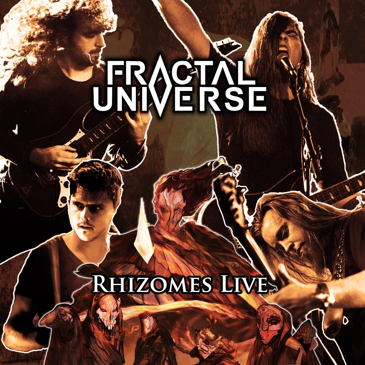 FRACTAL UNIVERSE : le détails du nouvel album live Rhizomes Live ; concert disponible en streaming dans son intégralité