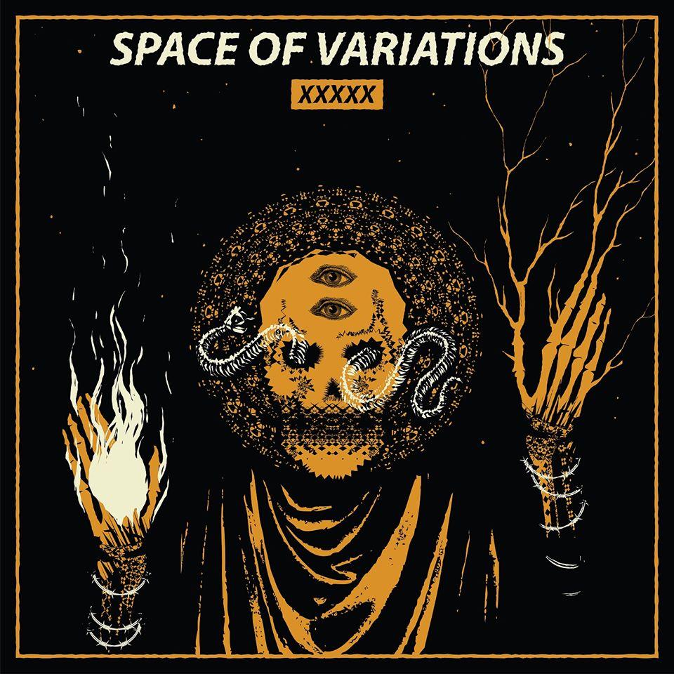 SPACE OF VARIATIONS xxxxx album cover artwork