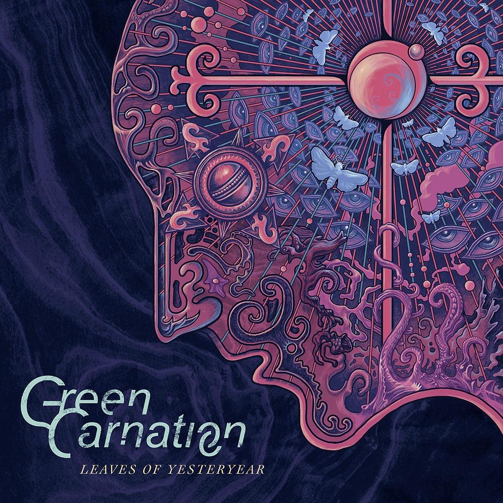 Green Carnation Leaves of Yesteryear