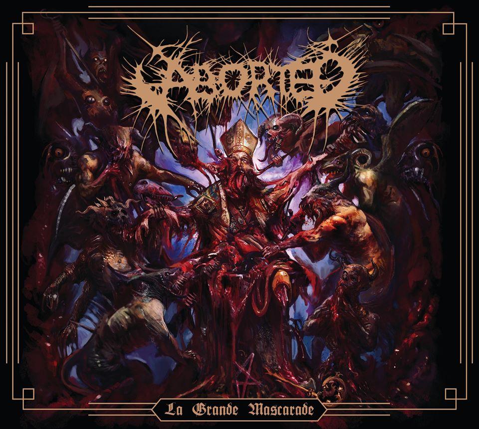 ABORTED dévoile la nouvelle chanson «Serpent Of Depravity»