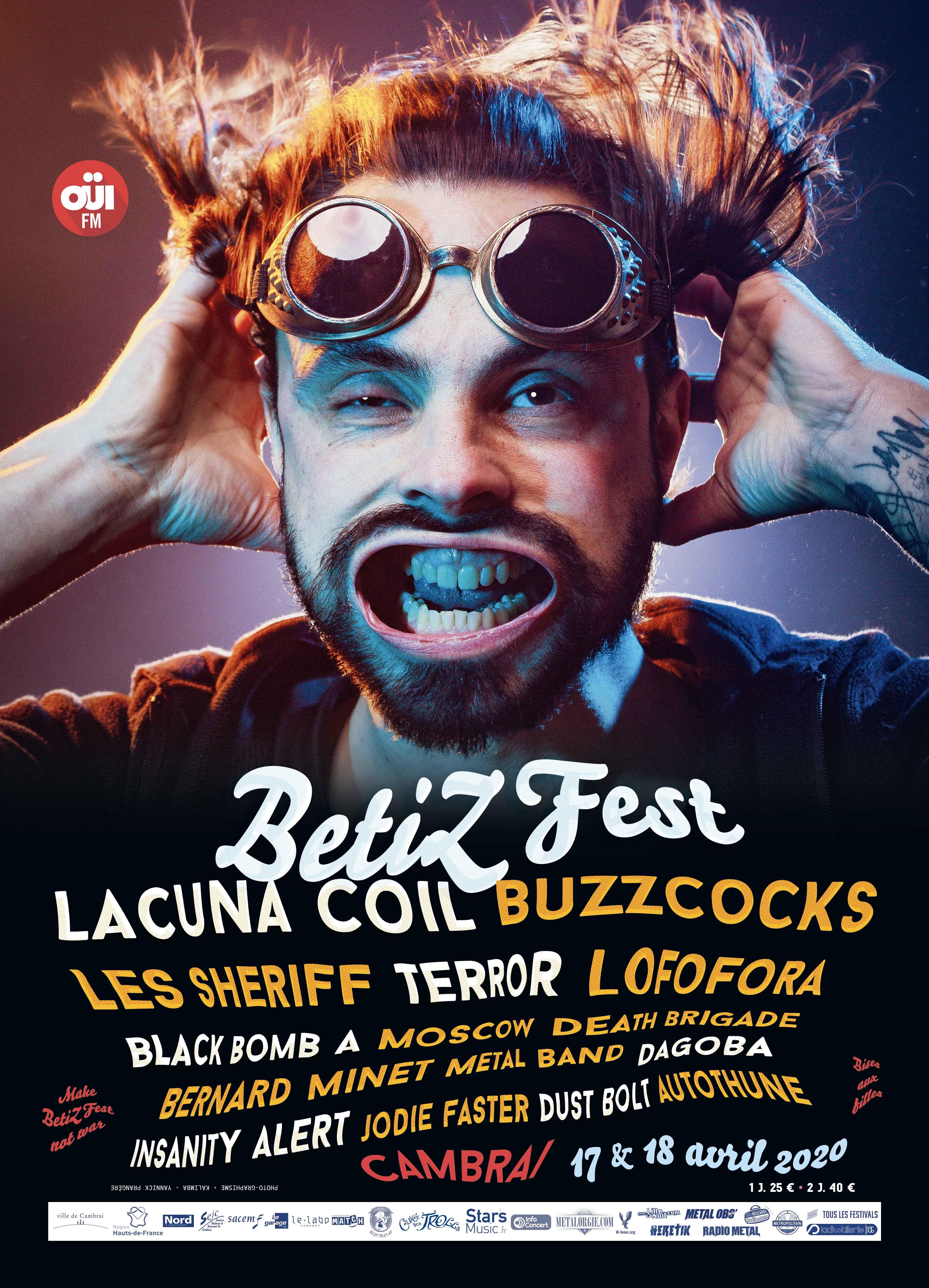 L'affiche complète du Betizfest 2020 est désormais connue