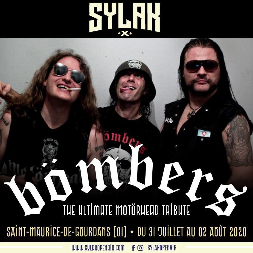 BÖMBERS (avec Abbath) annoncé au Sylak Open Air 2020