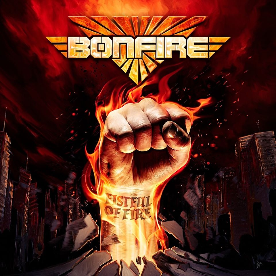 BONFIRE : les détails du nouvel album Fistful Of Fire