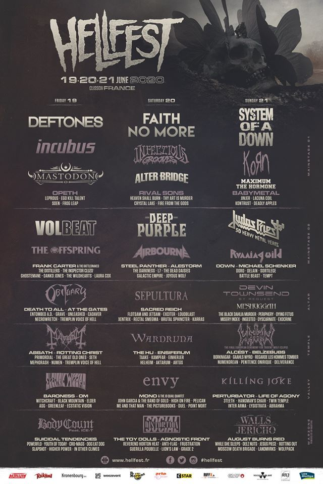 Hellfest 2020 : le communiqué officiel de l'annulation