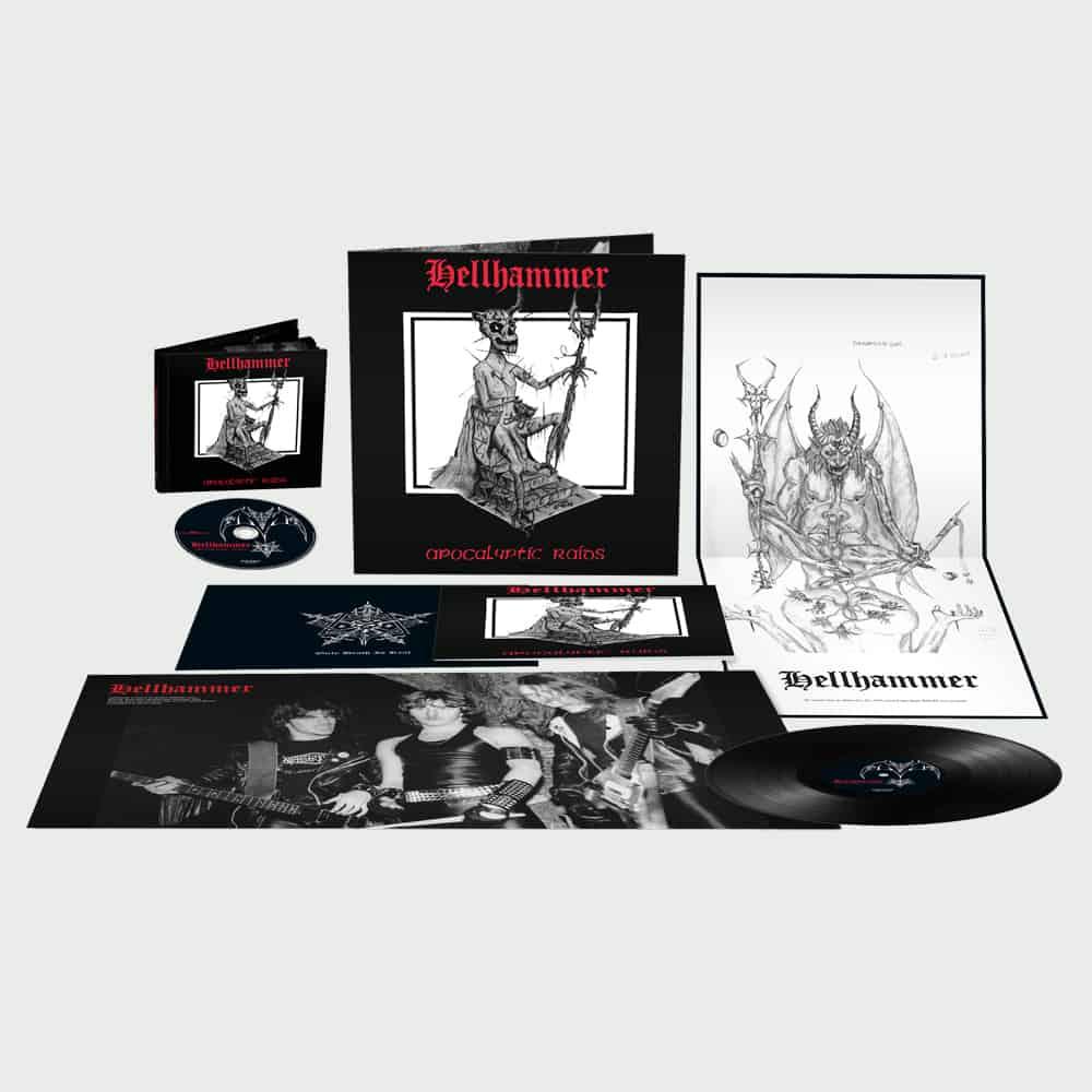 HELLHAMMER : les détails de la réédition de l'EP Apocalyptic Raids