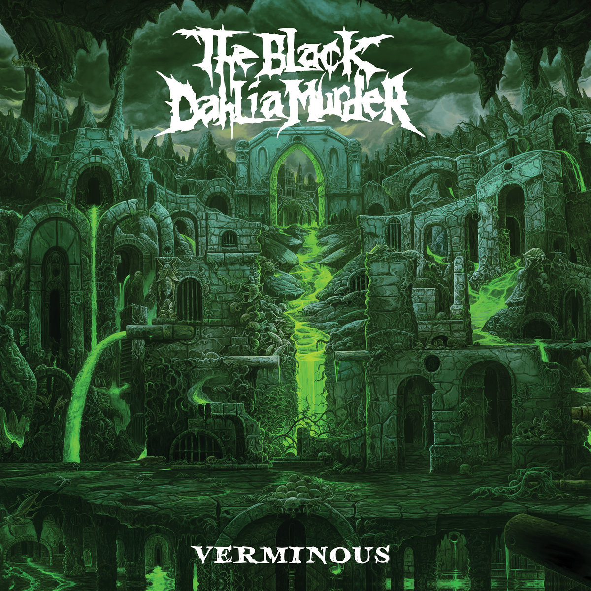THE BLACK DAHLIA MURDER verminous cover art