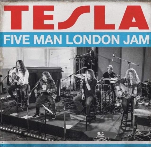 TESLA : les détails du nouvel album live Five Man London Jam