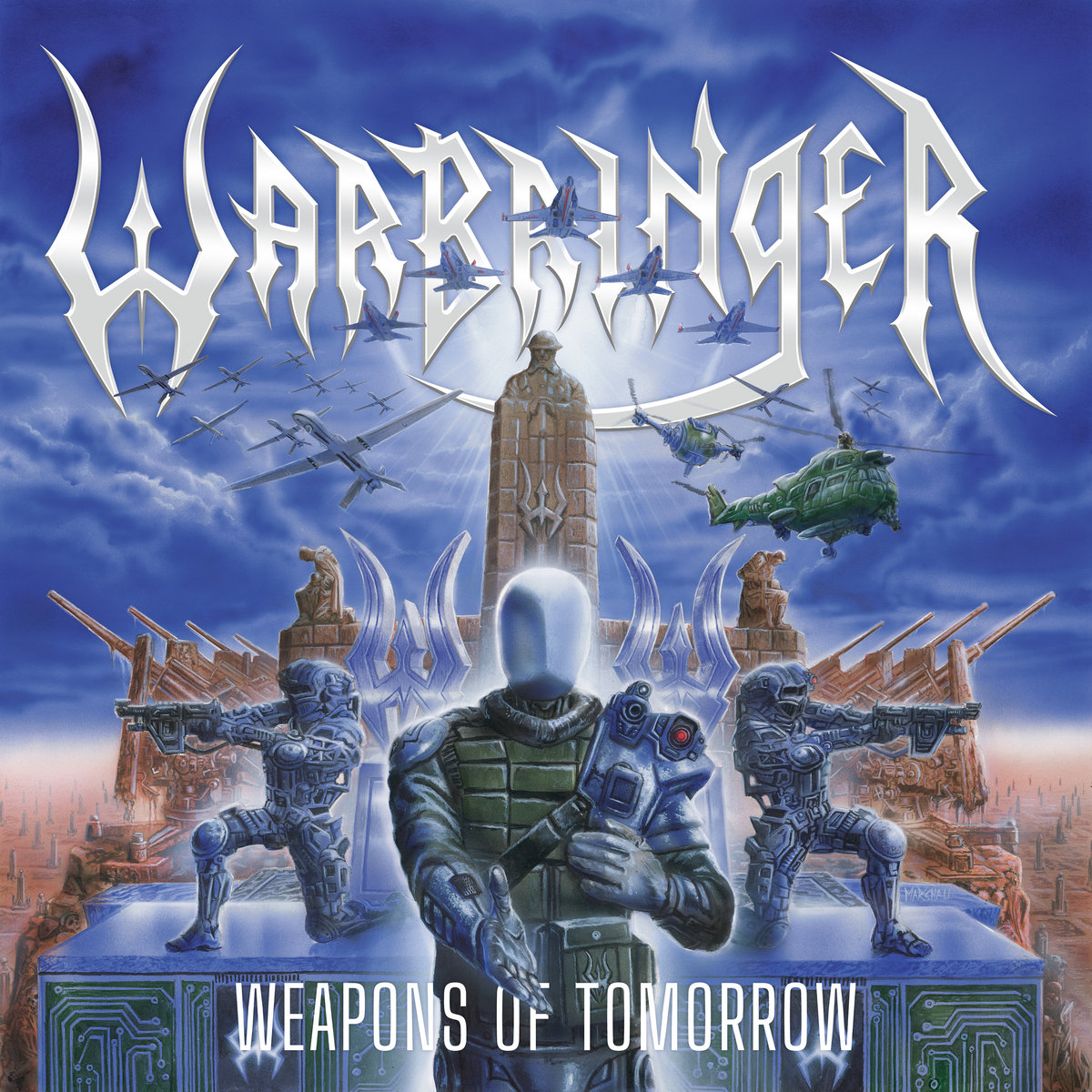warbringer weapons of tomorrow cover art