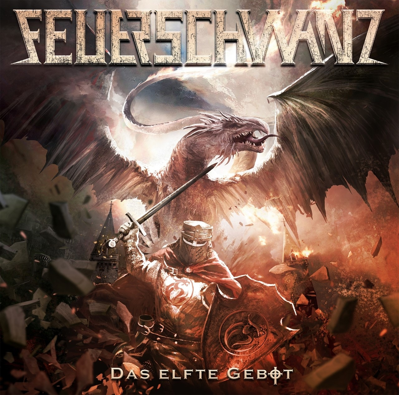 Feuerschwanz Das Elfte Gebot Album Coverart