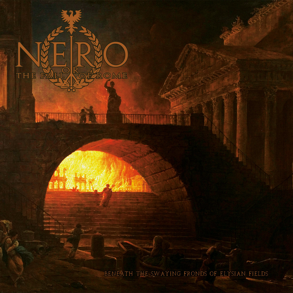 Beneath the Swaying Fronds of Elysian Fields Nero or the Fall of Rome cover art