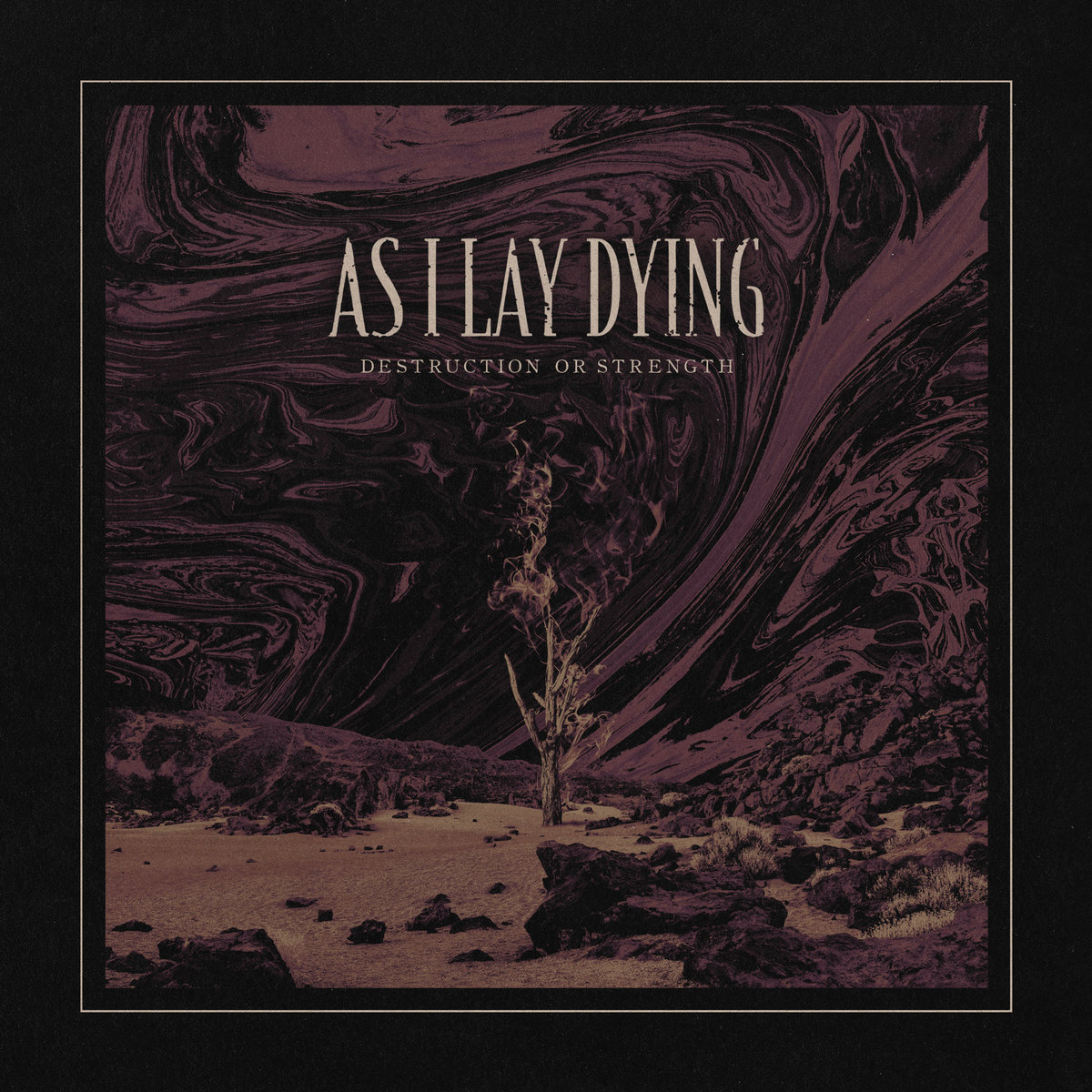 as i lay dying destruction of strength cover art