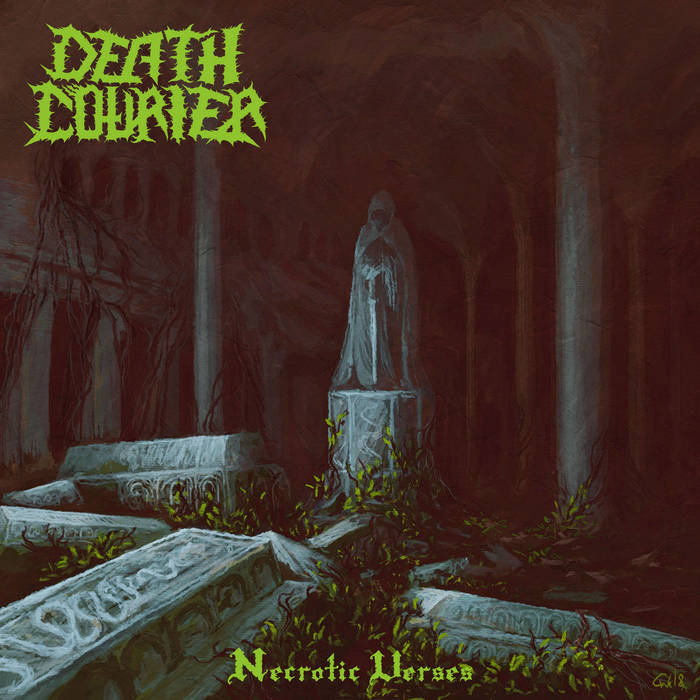death courier necrotic verses cover art