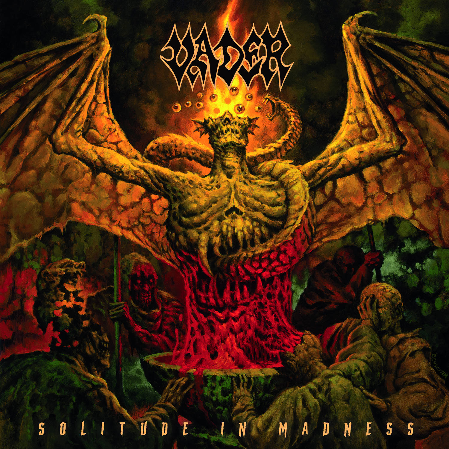 vader album cover art solitude in madness