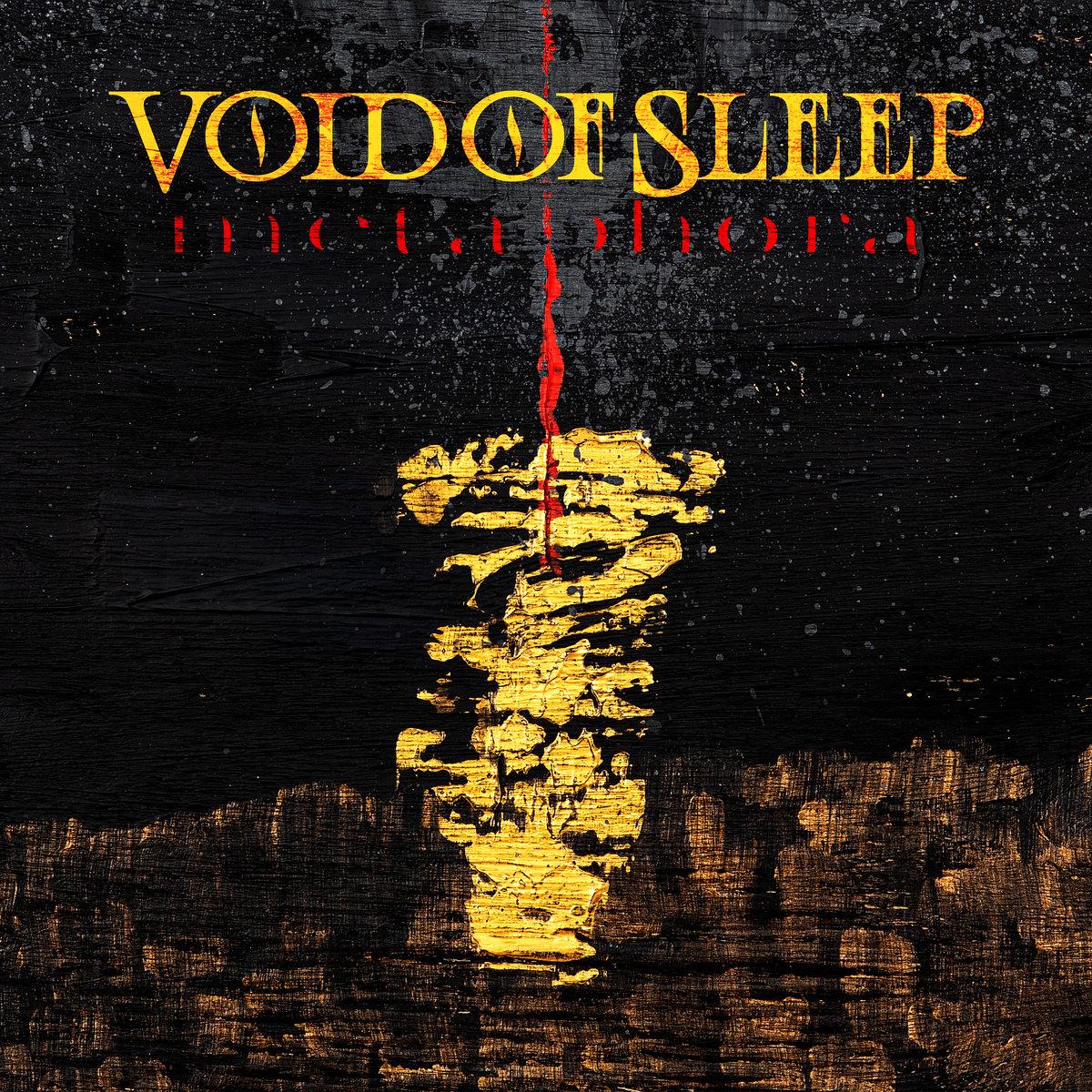 void of sleep metaphora cover art