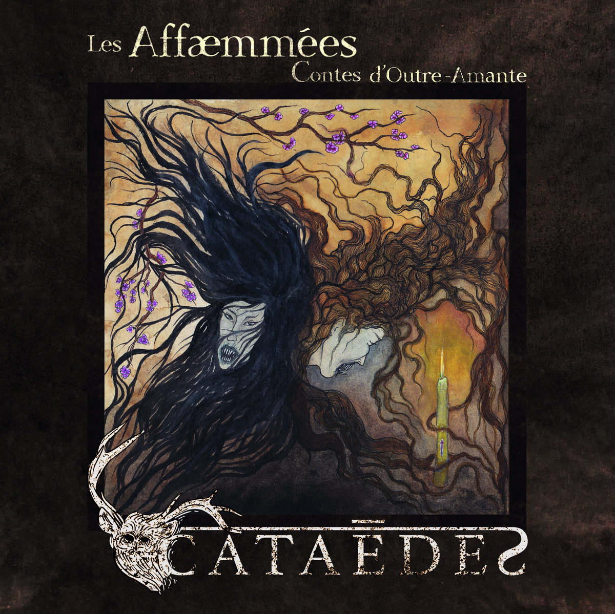 CATAÈDES : les détails du premier EP Les Affæmmées – Contes d'Outre-Amante