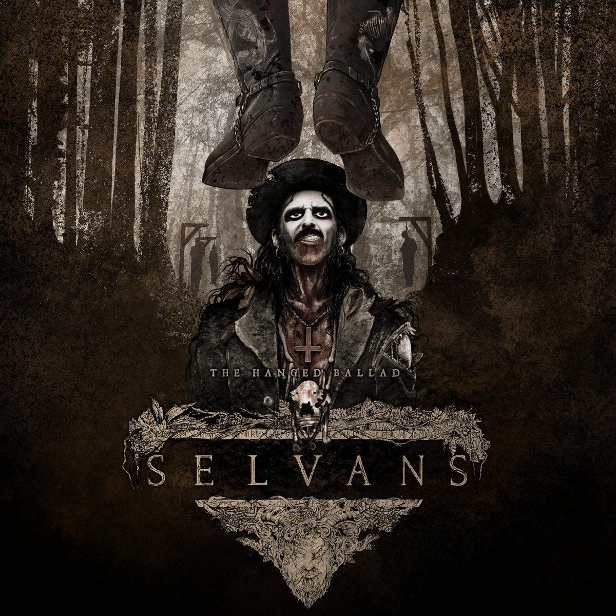 Selvans The Hanged Ballad Cover Art