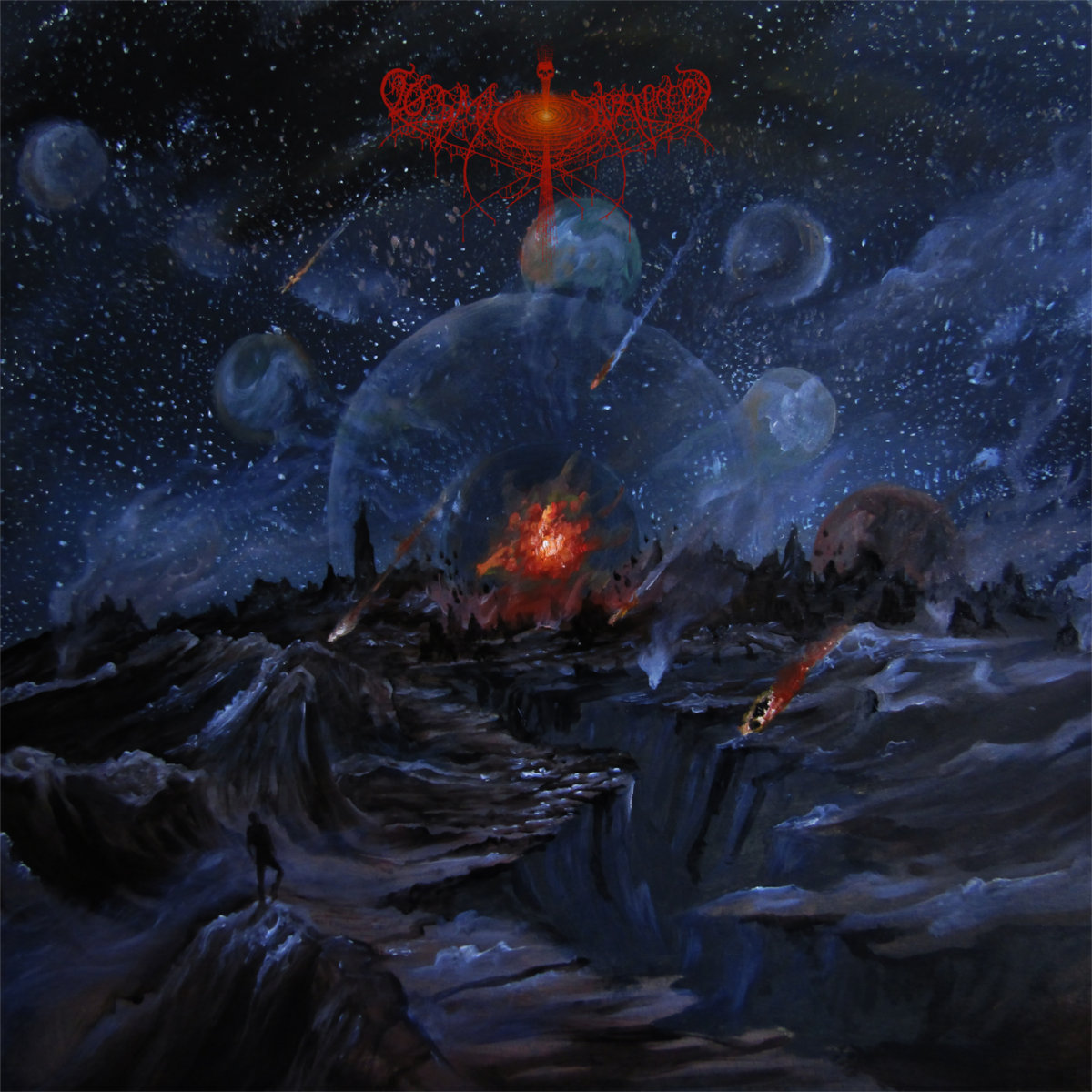 The Horizons Towards Which Splendour Withers COSMIC PUTREFACTION Cover Art