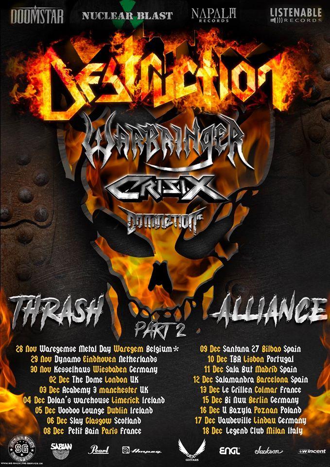 destruction concerts
