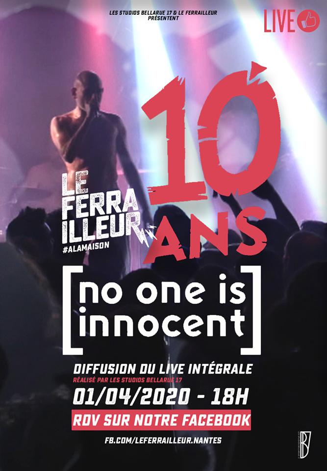 no one is innocent concert ferrailleur