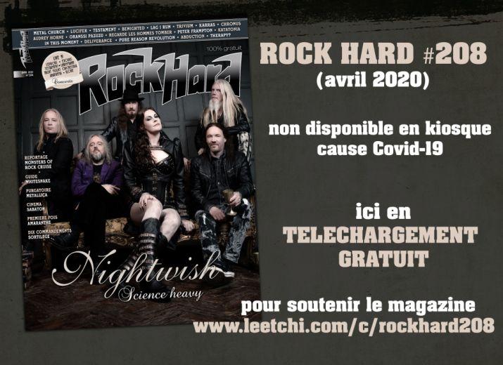 Rock Hard France : le nouveau numéro en accès gratuit ; une campagne Leetchi en cours pour soutenir le magazine