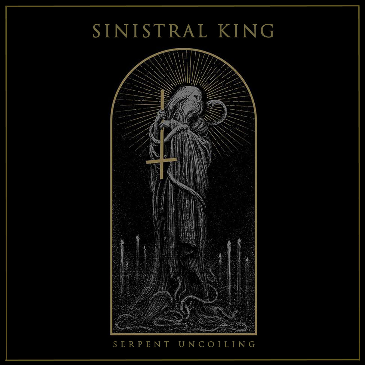 sinistral king serpent uncoiling cover art