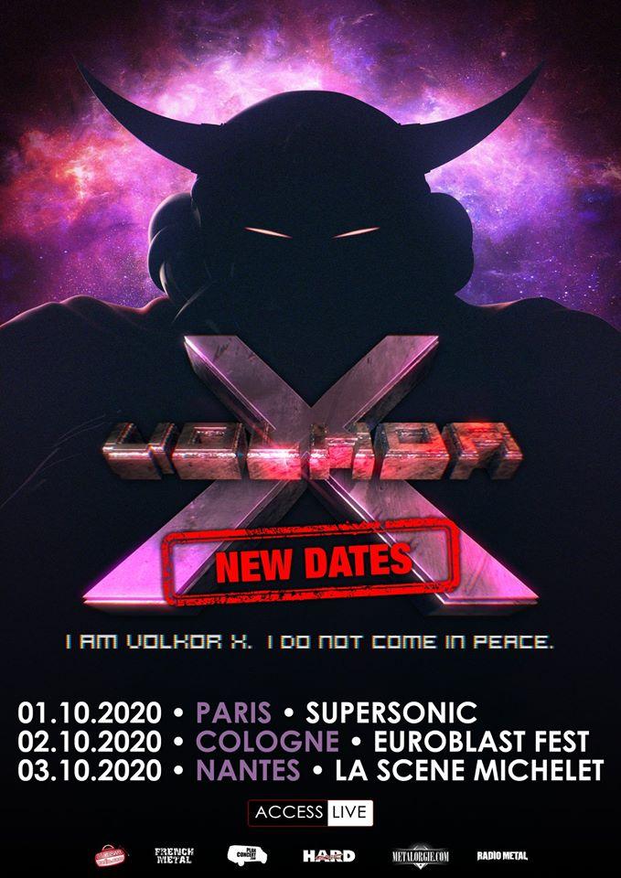 VOLKOR X : les détails du nouvel album This Is Our Planet Now ; passage en France en octobre