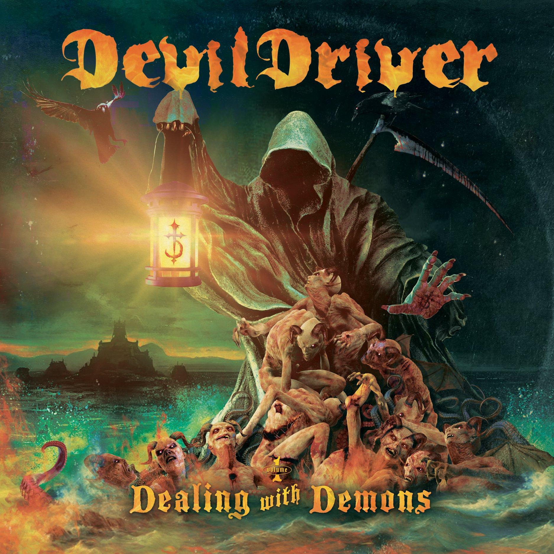 Dealing With Demons I DevilDriver Cover Art