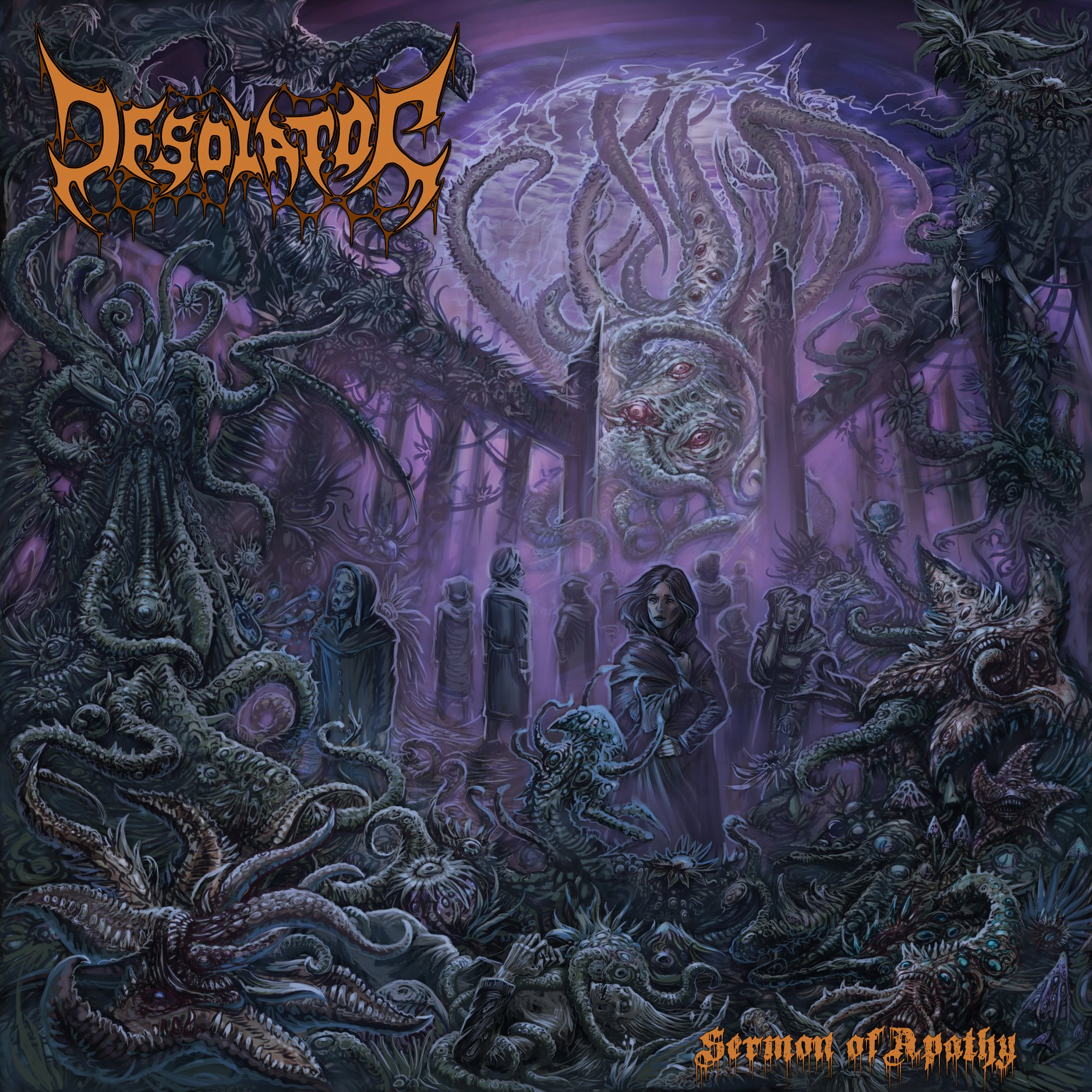 Desolator Sermon of Apathy Cover Art