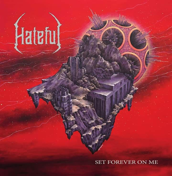 set forever on me hateful cover art