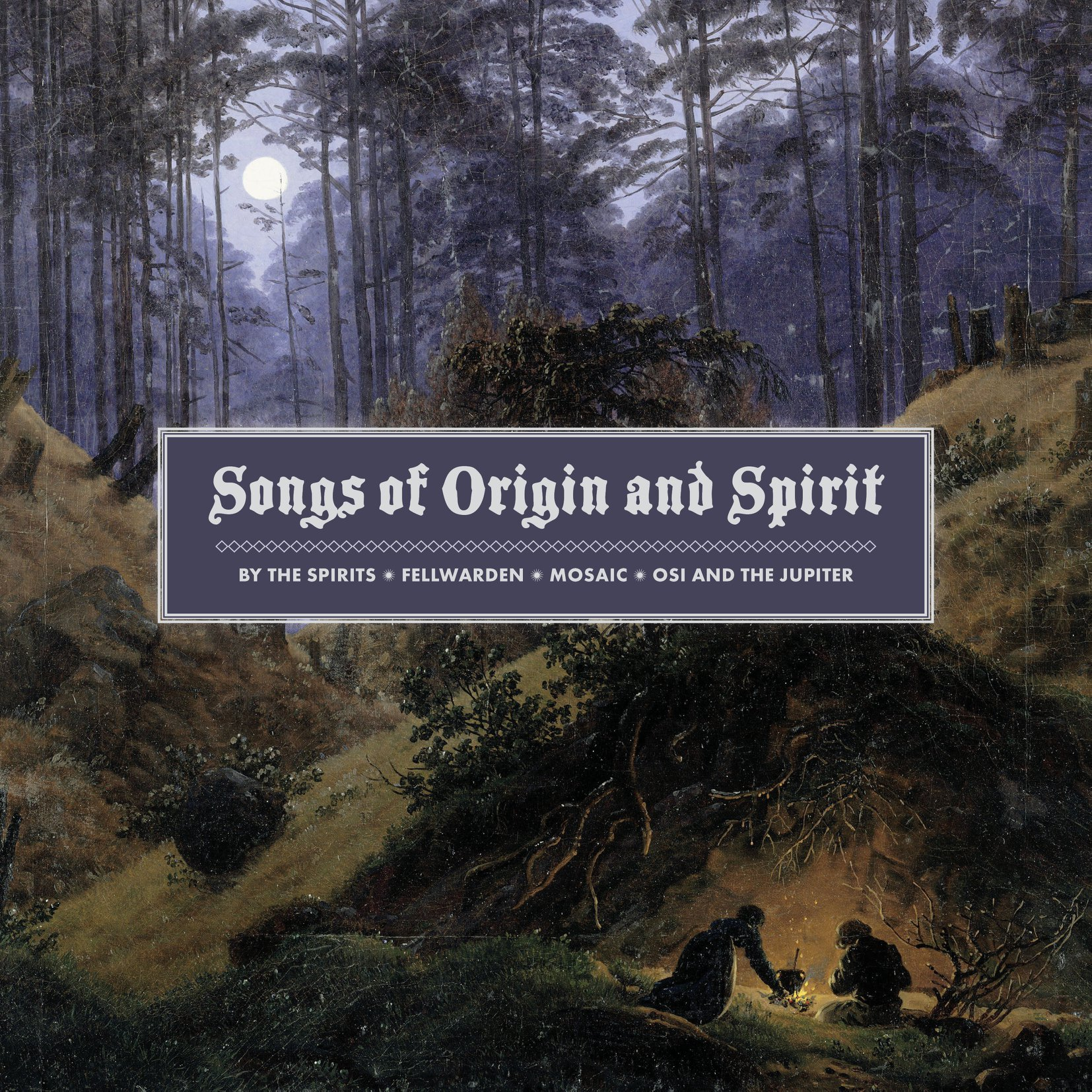 BY THE SPIRITS, OSI AND THE JUPITER, MOSAIC et FELLWARDEN origins and spirit