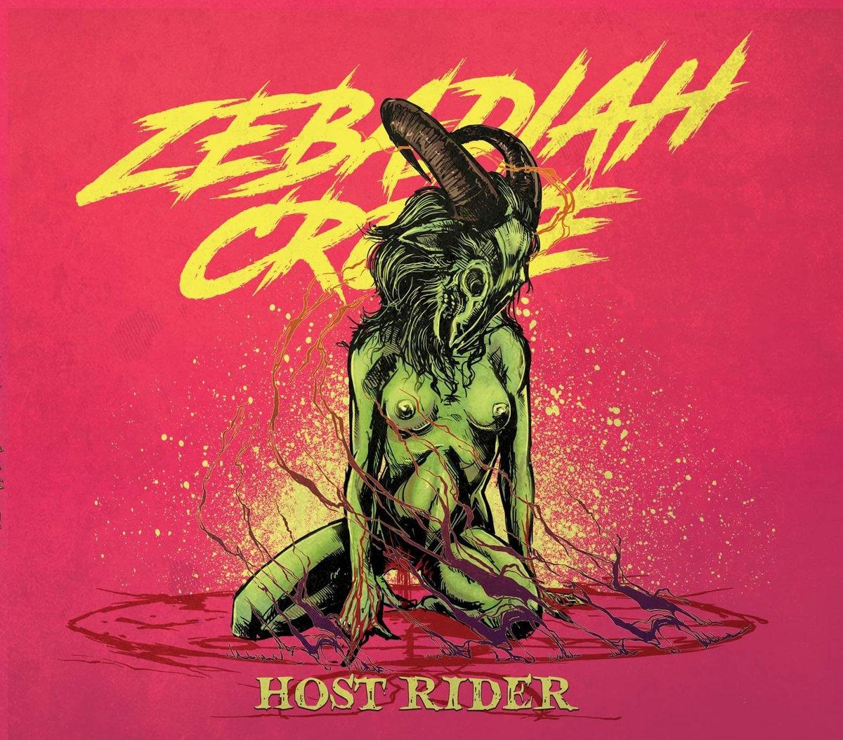 Album Host Rider Zebadiah Crowe Cover Art Artwork 2020 Black Metal UK