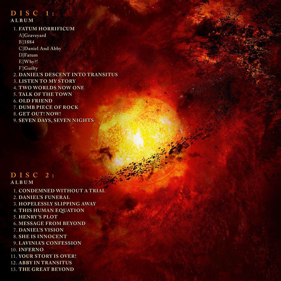 ayreon transitus tracklist