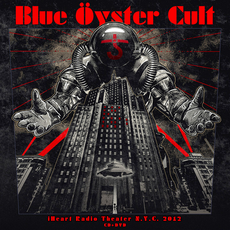 blue oyster cult iHeart Radio Theater N.Y.C. 2012