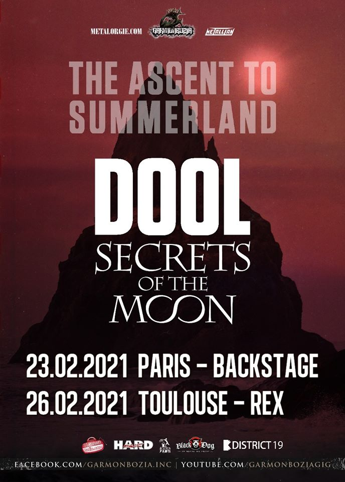 dool secrets of the moon tour