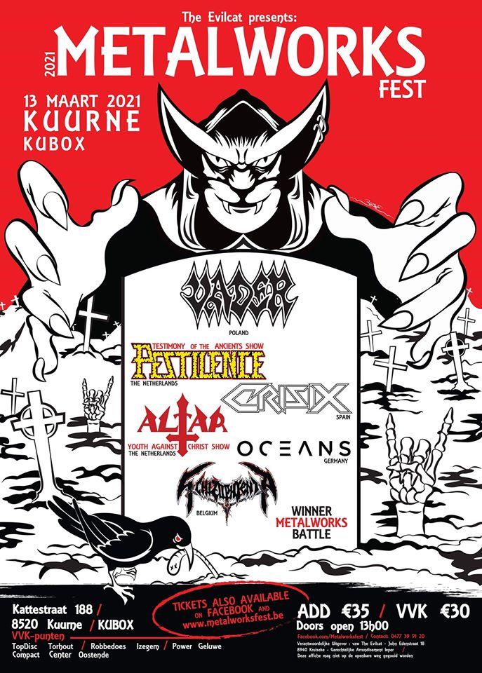 L'affiche complète du Metalworks Fest 2021 est désormais connue