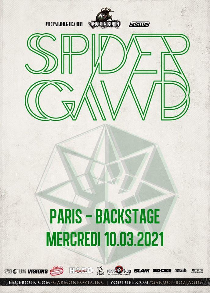 SPIDERGAWD de passage à Paris en mars