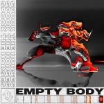 spook the horses empty body