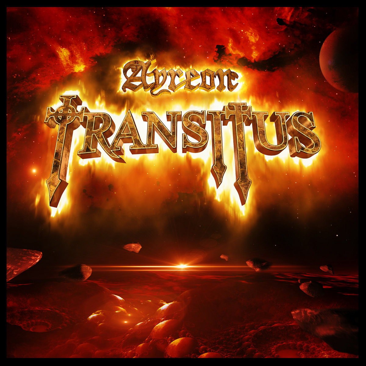 Transitus Ayreon Cover Art Artwork