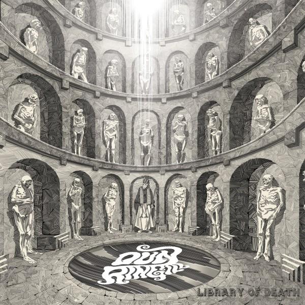 dun ringill library of death album cover artwork