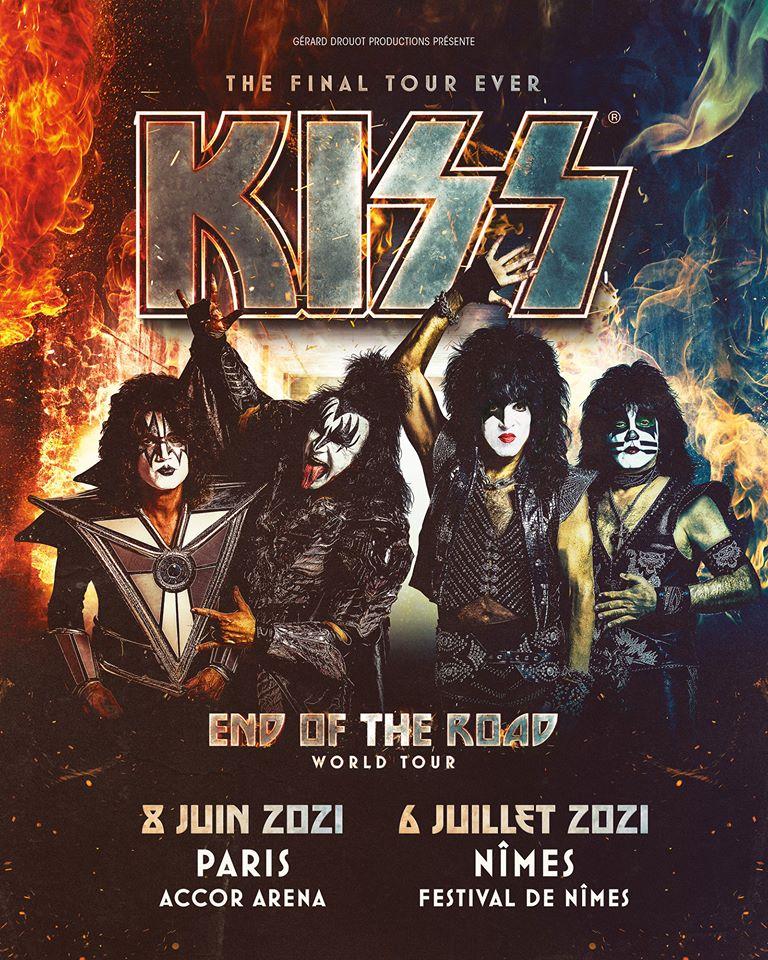 kiss concerts 2021