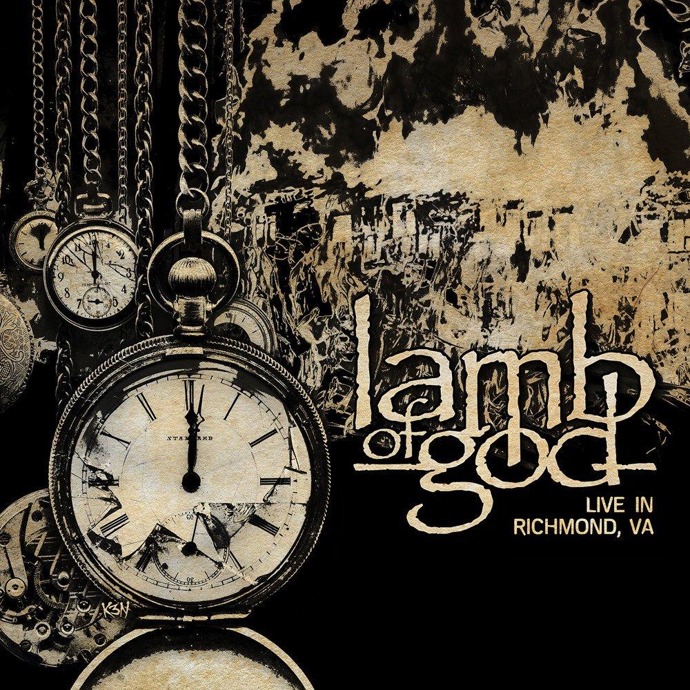 LAMB OF GOD : les détails du nouvel album live Live In Richmond, VA