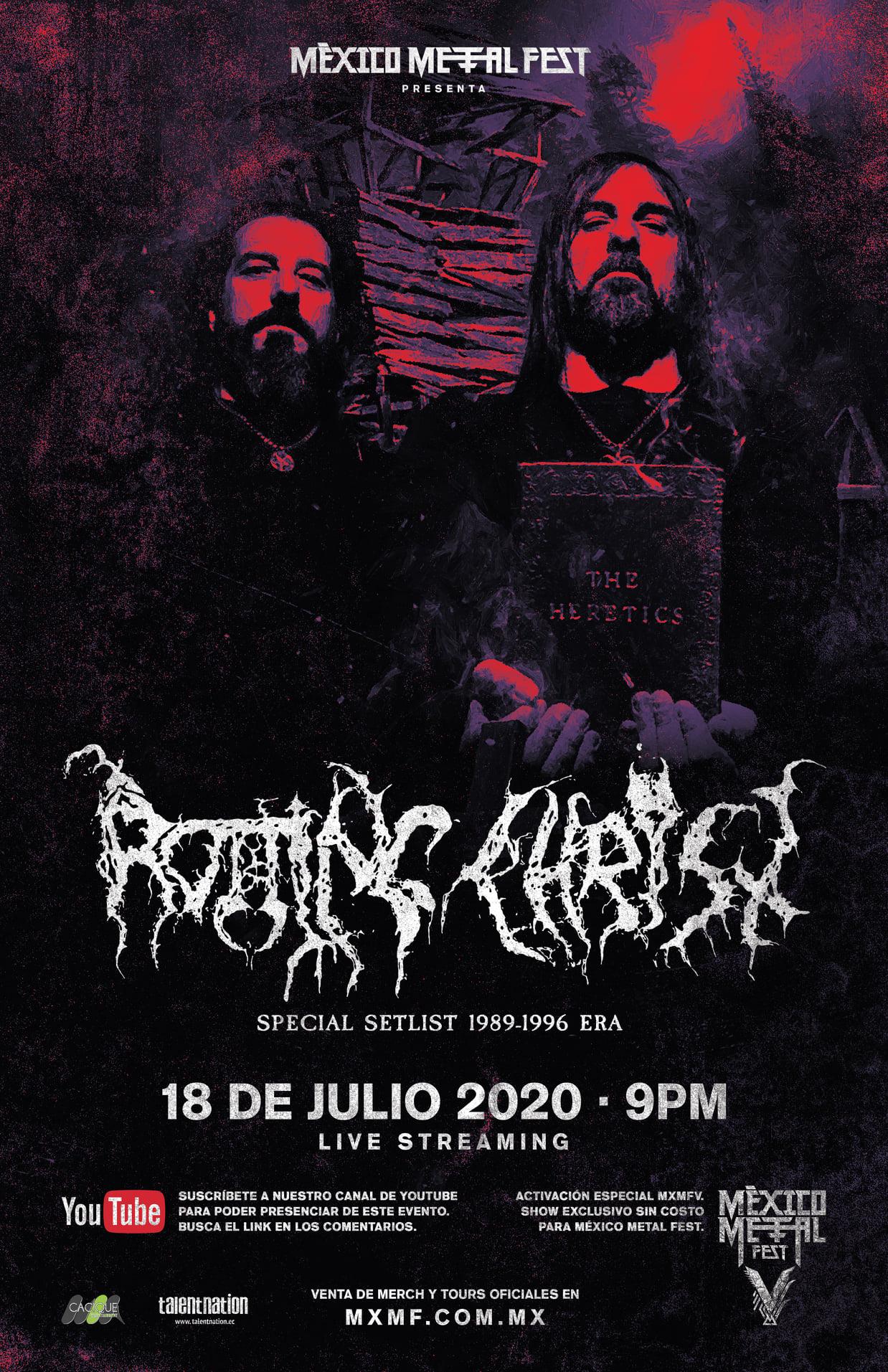 rotting christ mexico metal fest