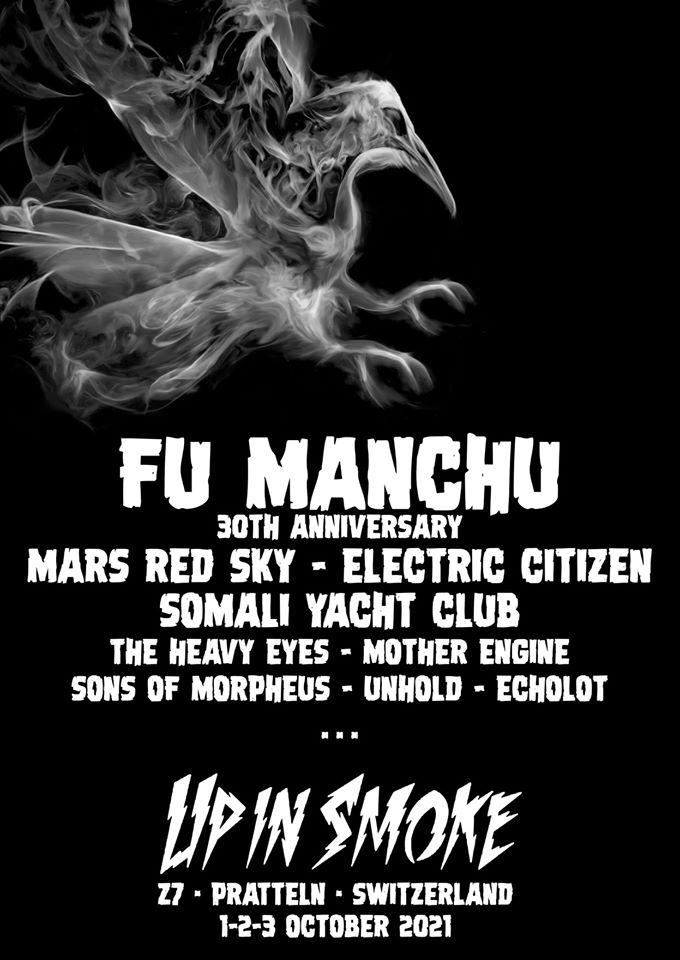 La prochaine édition du Up In Smoke Fest reportée à 2021