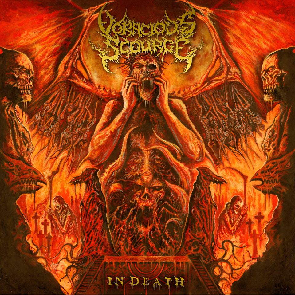 voracious scourge in death artwork