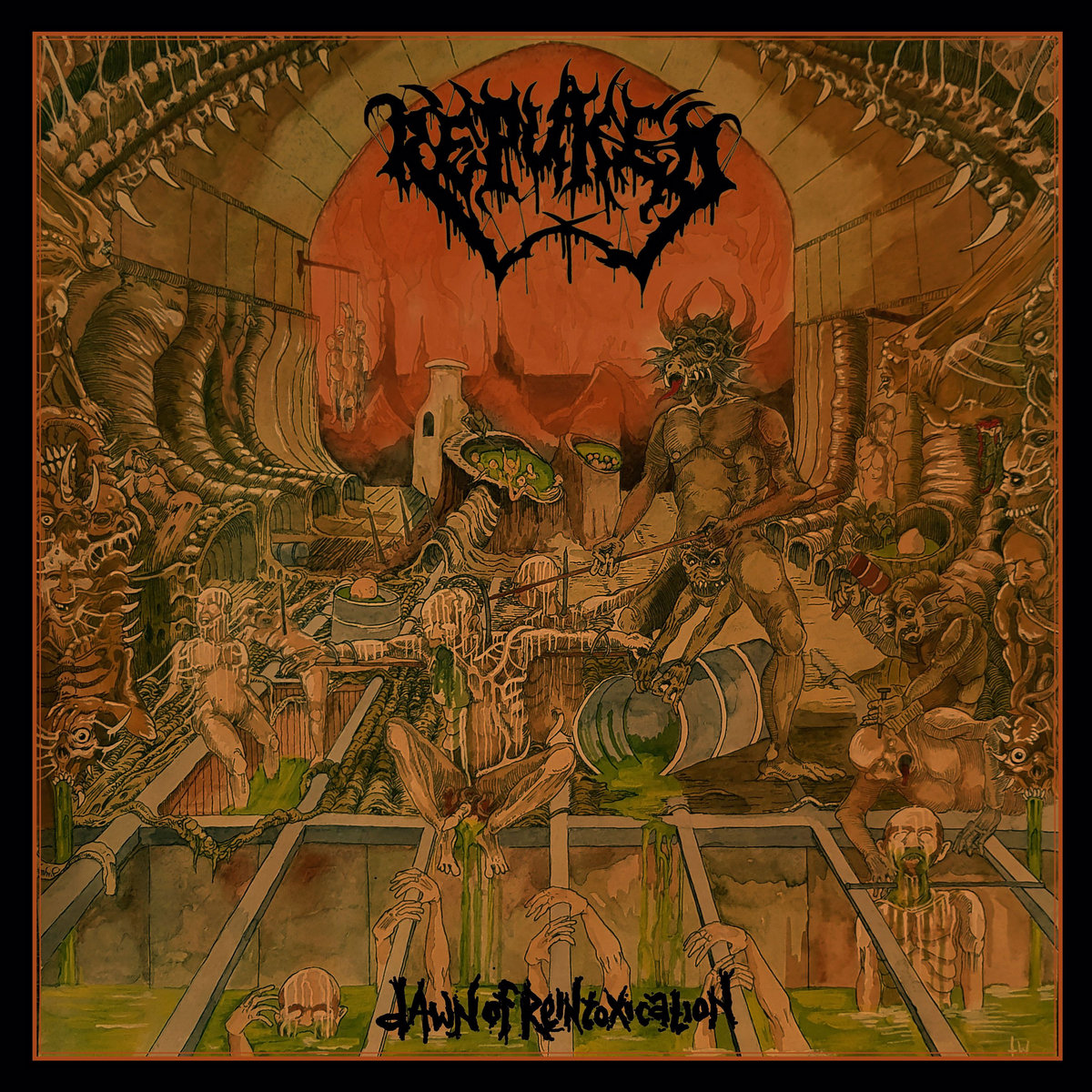 Dawn of Reintoxication Repuked Cover Artwork