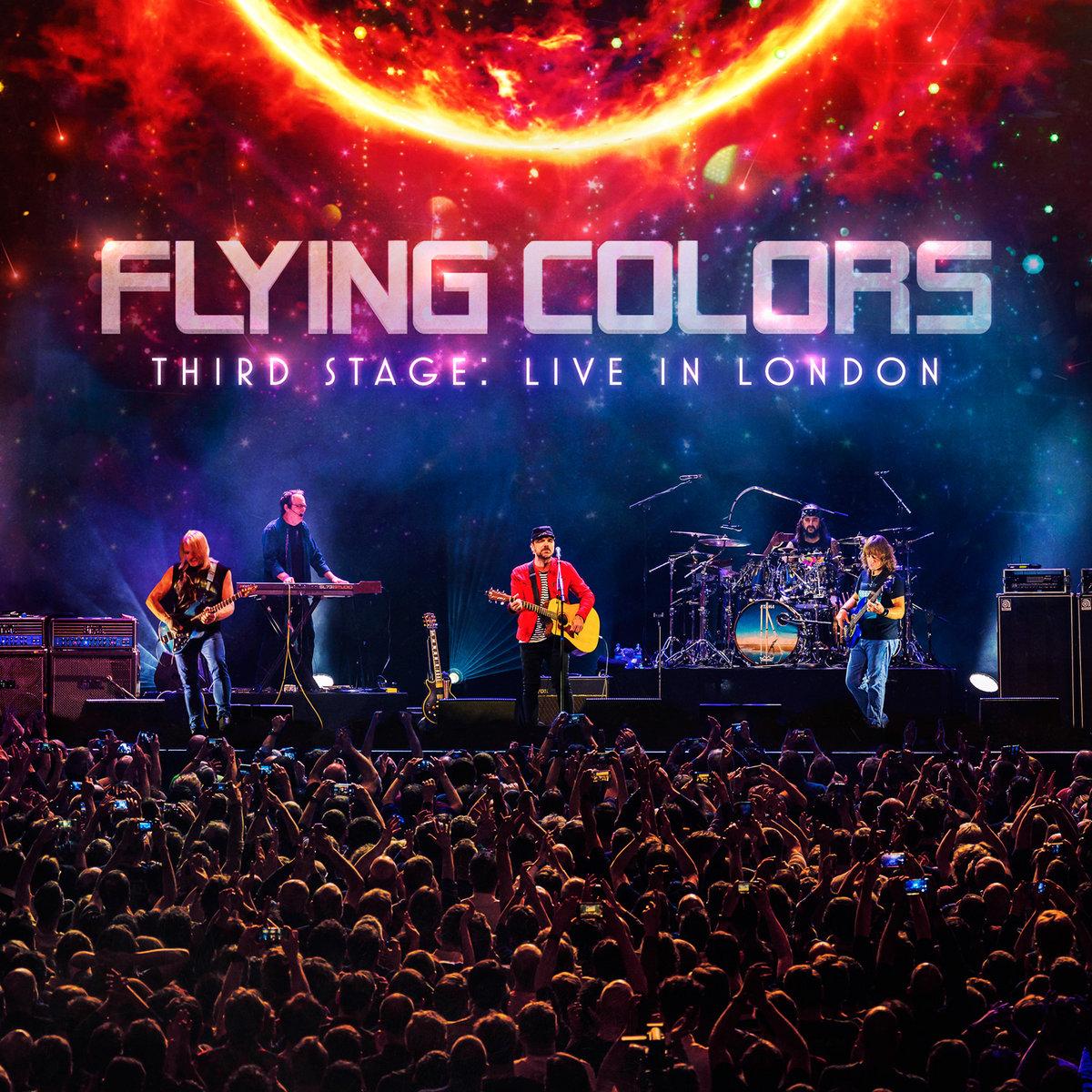 FLYING COLORS dévoile la vidéo live de la chanson «More»
