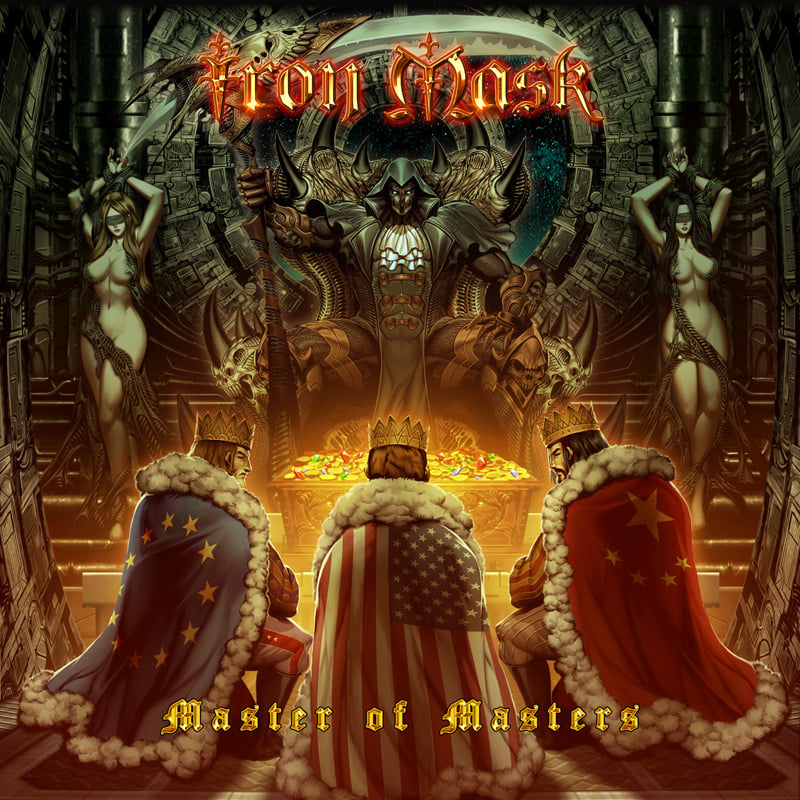iron mask Master of Masters cover artwork
