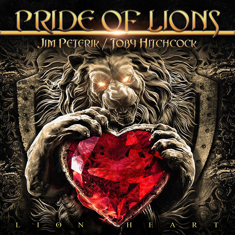 PRIDE OF LIONS lion heart cover artwork