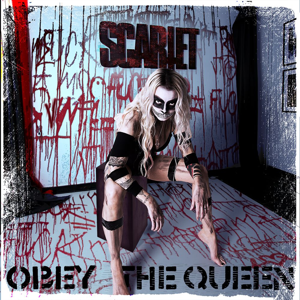 obey the queen scarlet cover artwork