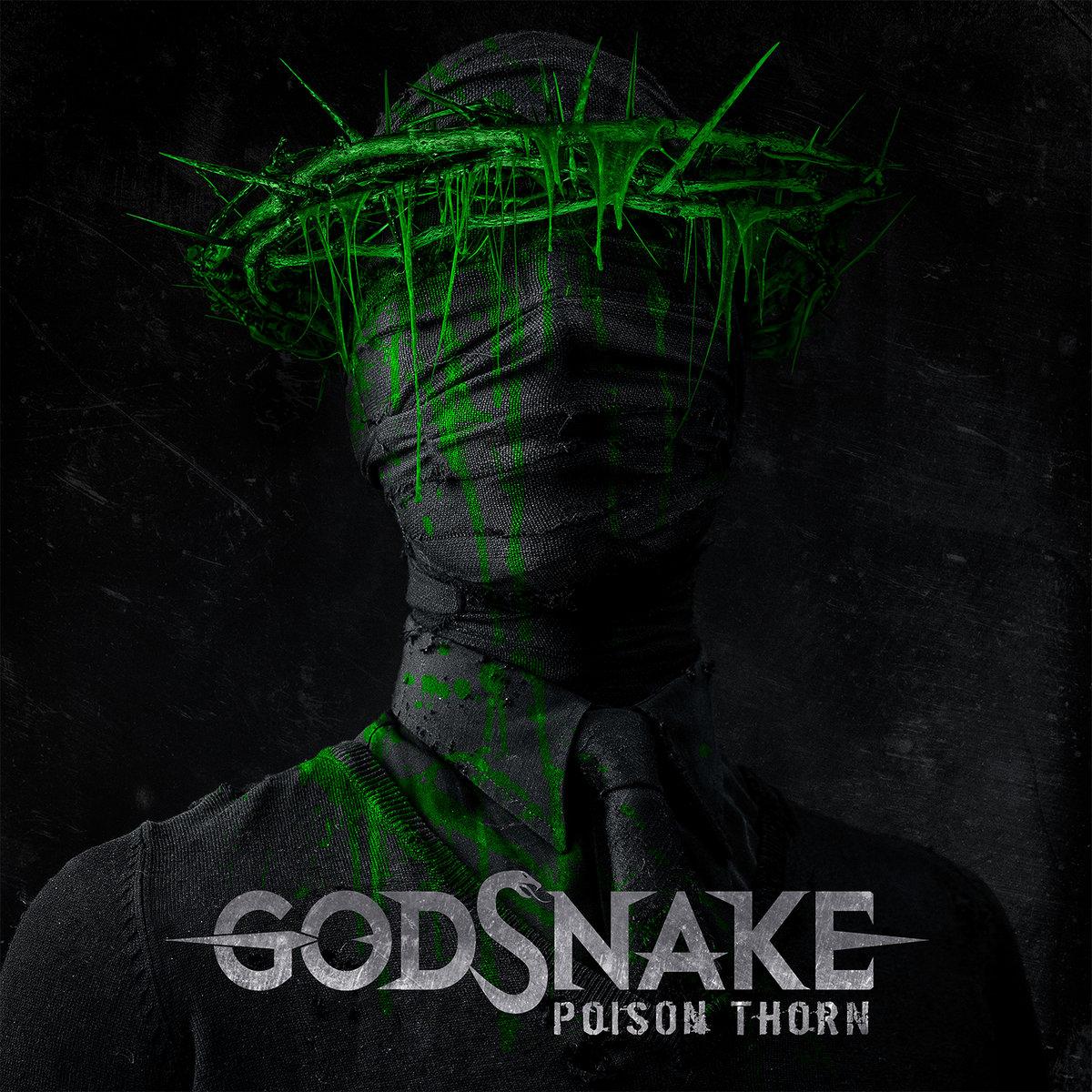 Poison Thorn GODSNAKE cover artwork